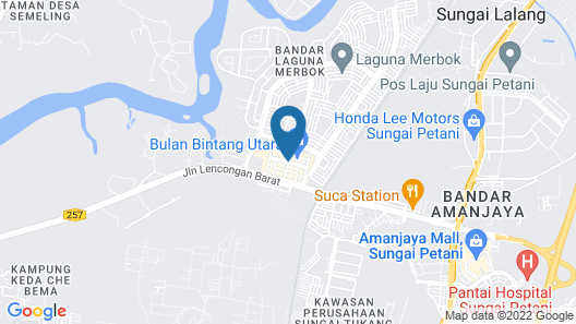 Le An Hotel Map