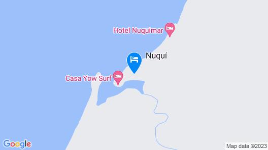 Hotel Acuali Nuqui Map