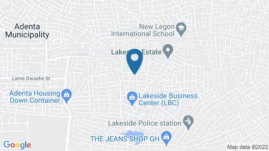 Rasta Tee's Place Map