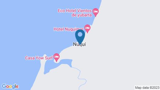 Cabaña Los Termales Map