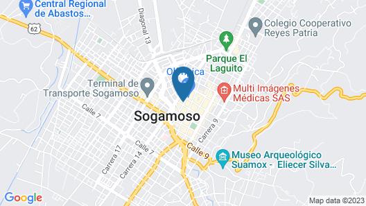 Hotel H53 Map