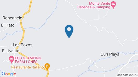 La Victoria Glamping Map