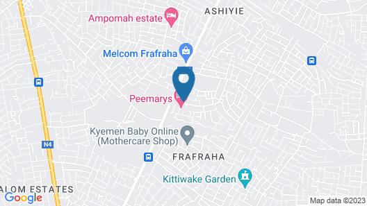 Peemarys Hotel Map