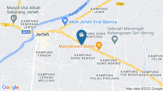 OYO 89435 Nusantara Group Hotel Map