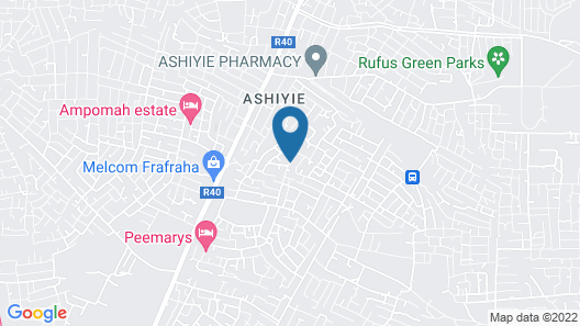 GHouse Accra Map