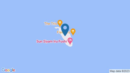 Sun Siyam Iru Fushi Map