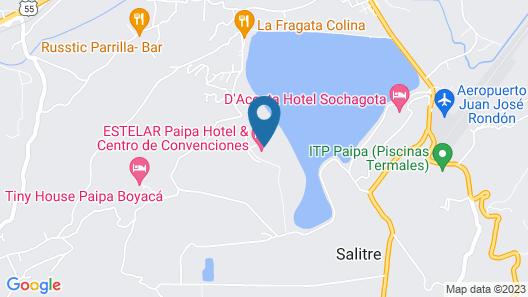 Estelar Paipa Hotel Spa & Centro de Convenciones Map