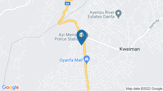 Family House in Ayi Mensah Park Accra Map