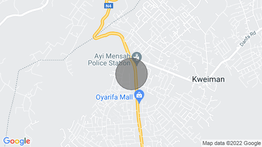 Experience  Accra, Ghana 2 Bedroom House Map