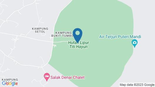 SPOT ON 89954 D'yan Chalet Map