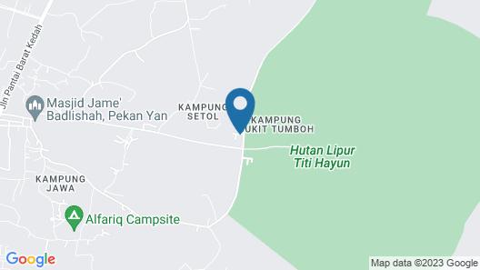 Alang Kenari Resort Map