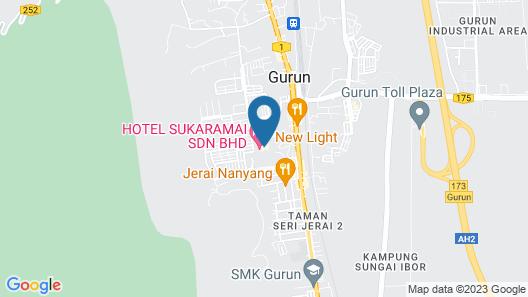 Hotel Sukaramai Map