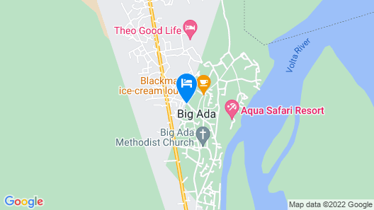 Aqua Safari Resort Map