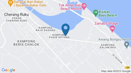 SPOT ON 89661 Dee Wana Resort 2 Map