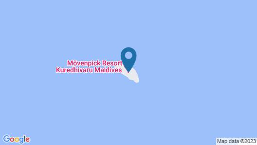 Mövenpick Resort Kuredhivaru Maldives Map