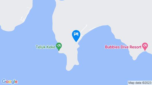 Eco Marine Perhentian Island Resort - Hostel Map