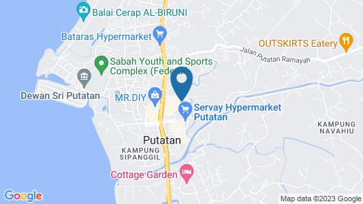 Putatan Platinum Hotel Map
