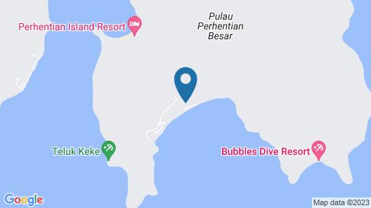 Samudra Beach Chalet Map