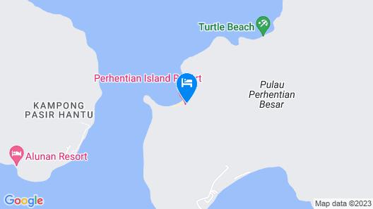 Perhentian Island Resort Map