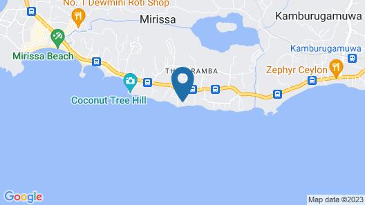 Mirissa Beach Villa Map