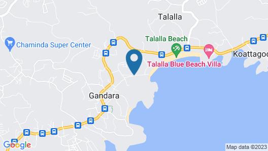 Talalla 170 Villa Map
