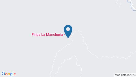 Finca La Manchuria Map