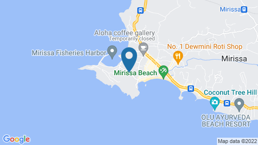 Handagedara Resort Map