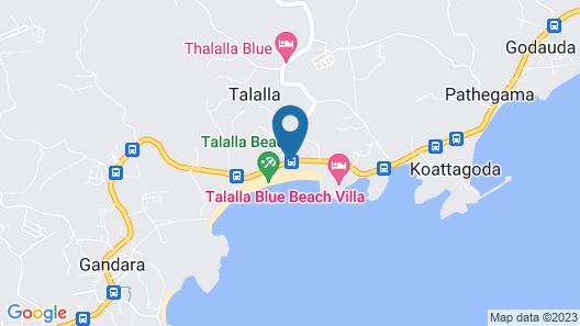 Zephyr Talalla Villa Map