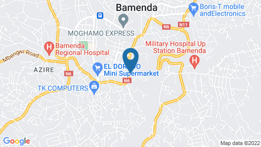 Kangle Plaza Hotel – Ngen Junction Map