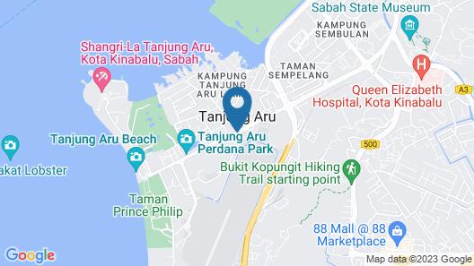 Dock In - Hostel Map