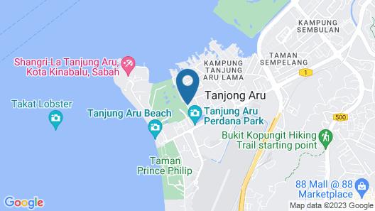 Orion Residence at Tanjung Aru Map