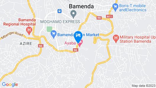 Ayaba Hotel Map