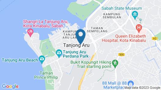 Goldenhill Hotel Map