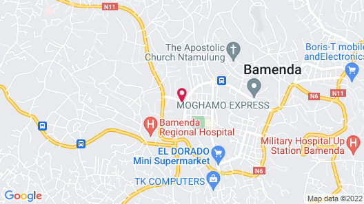 Azam Hotel Map