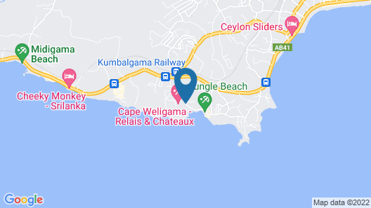 Cape Weligama Map