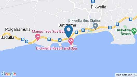 Dickwella Resort and Spa Map