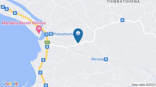 Mirissa Hills Resort Map