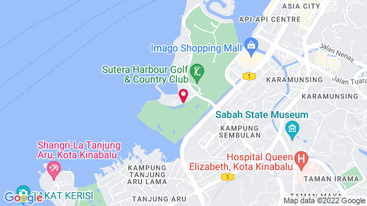 The Pacific Sutera Hotel Map
