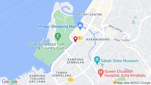 Zara's Boutique Hotel Map