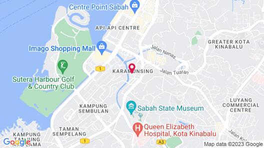Oceania Hotel Map