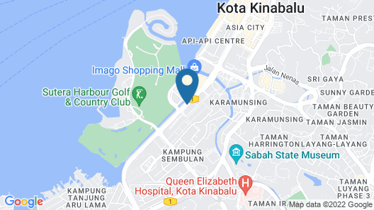Borneo Aloha Sutera 2 Bedroom Units Map