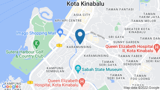 SKYPOD Hostel Map