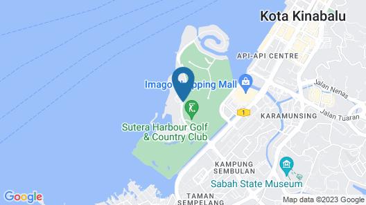 The Magellan Sutera Resort Map