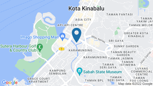 Sabah Oriental Hotel Map