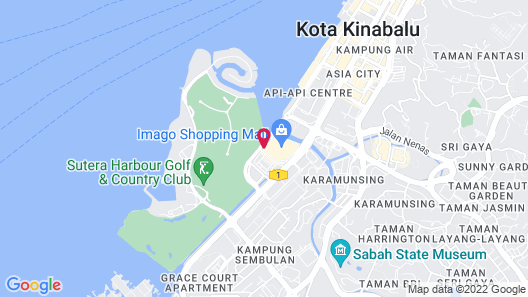 Borneo Coastal Residence - IMAGO Mall Map