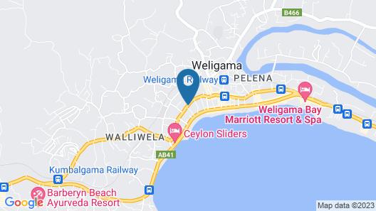 Sana Guest Map