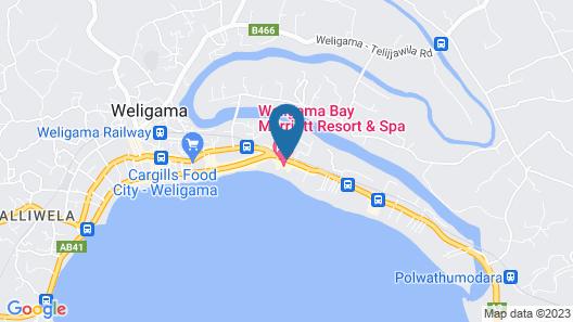Weligama Bay Marriott Resort & Spa Map
