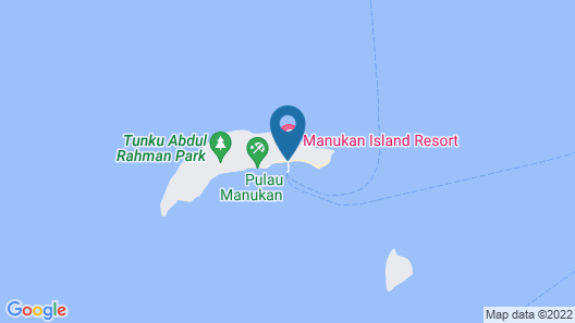 Sutera Sanctuary Lodges at Manukan Island Map