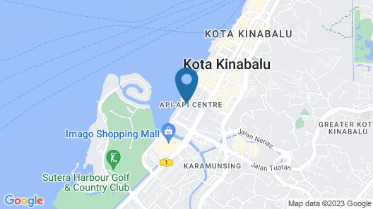 Promenade Hotel Kota Kinabalu Map