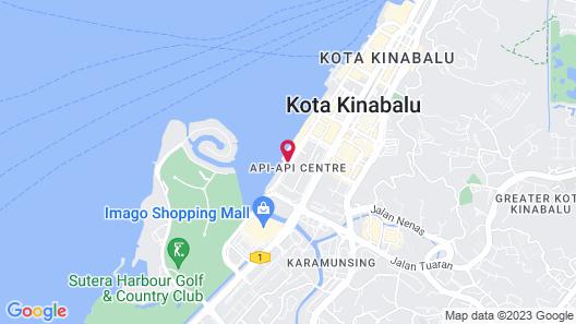 Kota Kinabalu Marriott Hotel Map